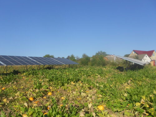 Солнечная станция с поворотным углом, 36 kВт Слобидка-Рахнивська