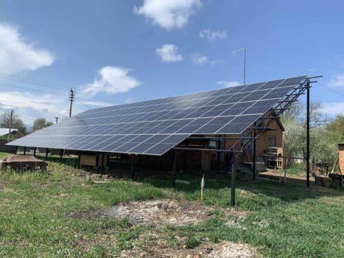 Солнечная станция 37 kВт, Копачовка